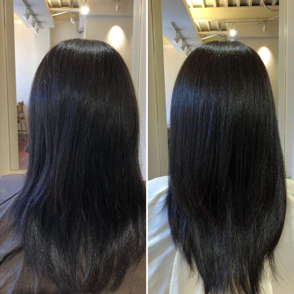 毛髪の酸化が原因でのうねりは、髪のシワ⁉︎
