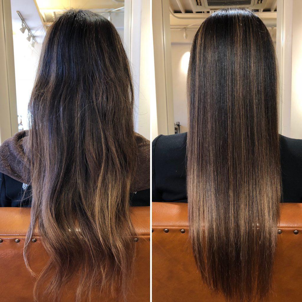 大阪水素トリートメント!美髪再生プレミアムトライアルコース大人気!仕上がりに驚きの声!