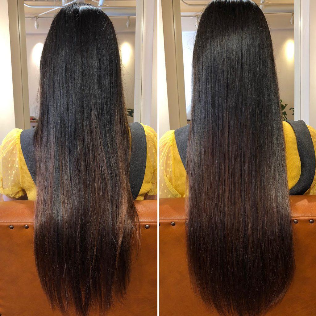 スーパーロング!美髪再生プレミアムトライアル!仕上がりにビックリされてました!