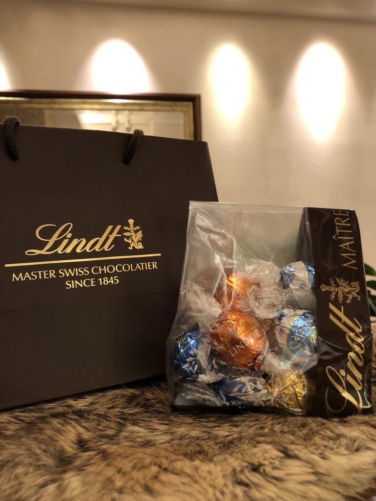 リンツのチョコレート!LINDOR頂きましたよ〜