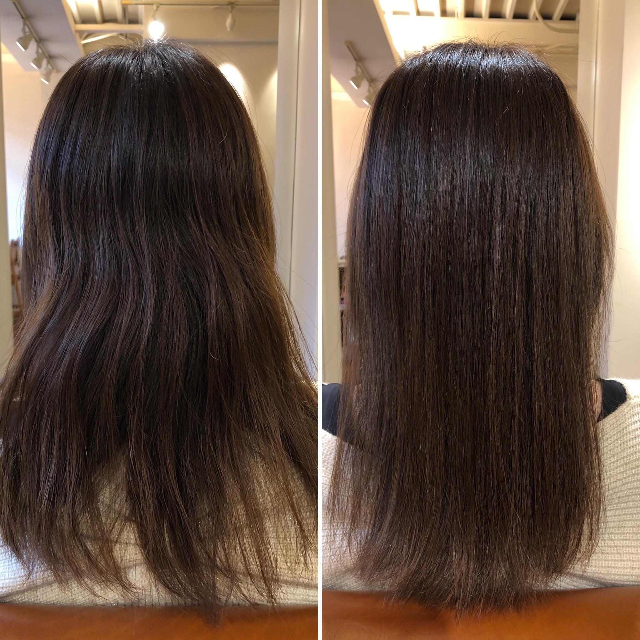 毛髪の酸化が髪のシワになります!水素トリートメントで還元しましょう!
