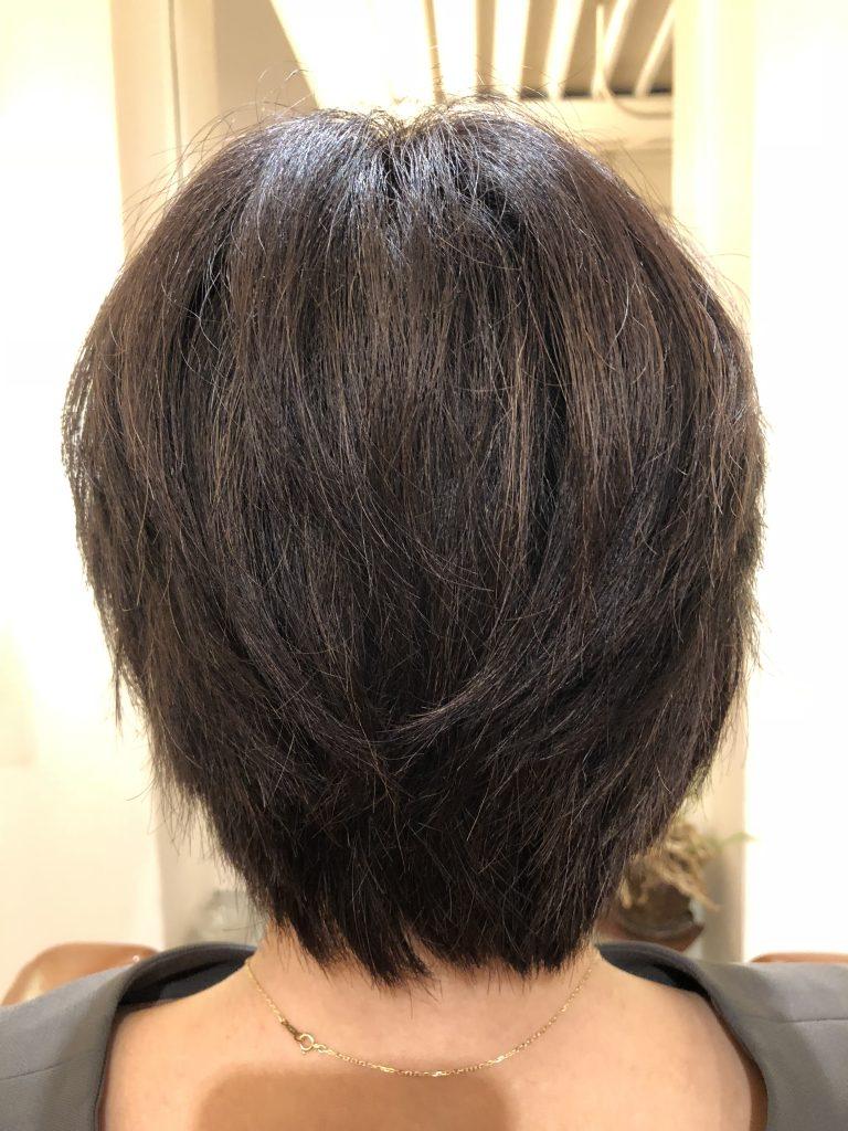 水素トリートメント5回目!驚異的な毛髪変化!