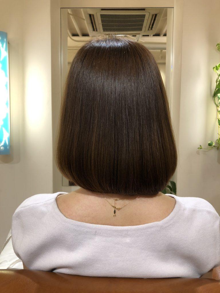 美髪再生プレミアム5回目終了!