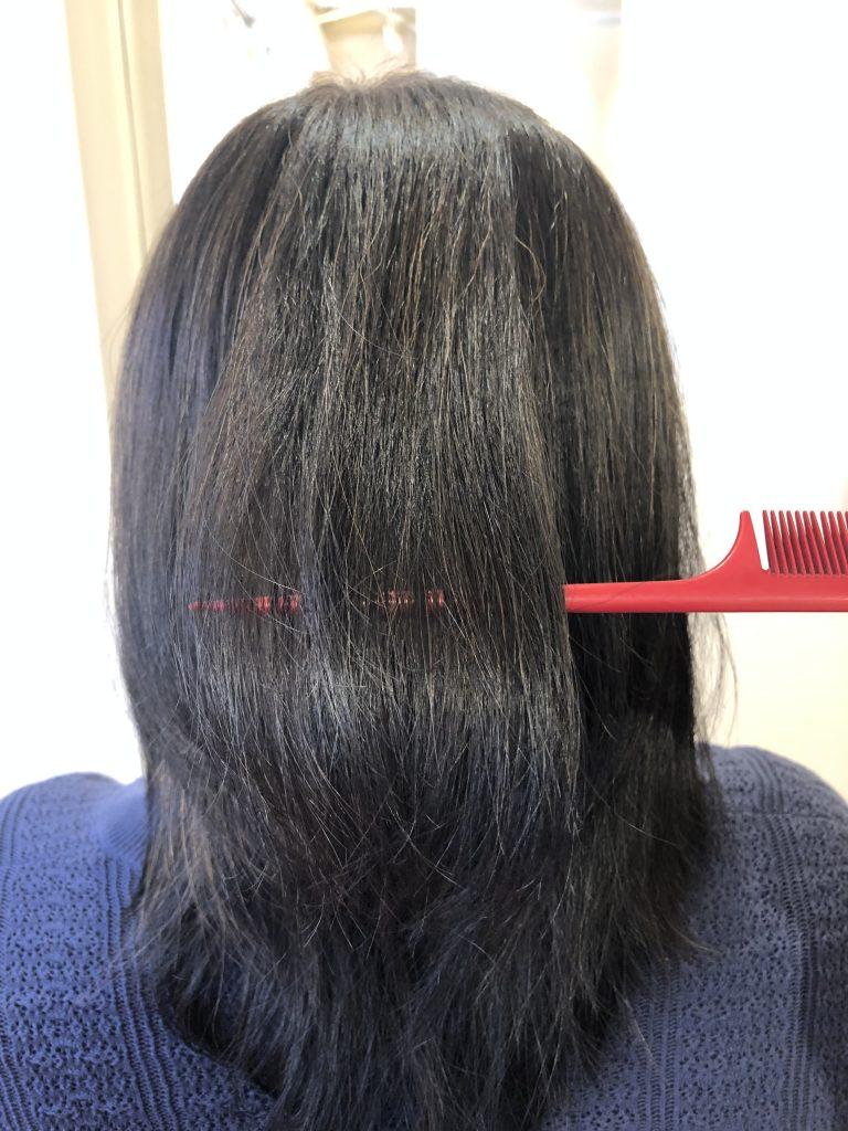 美髪を求めて遠方から水素トリートメントをされに来られました!