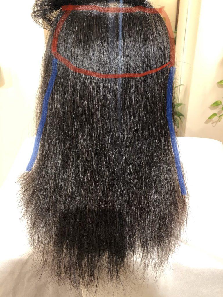 エイジング毛がティーン毛に!水素ケア継続での結果です。