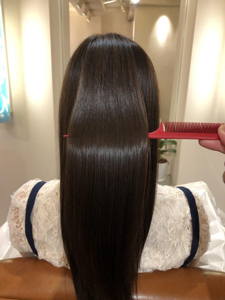 美髪再生プレミアム!絹の様な手触りです