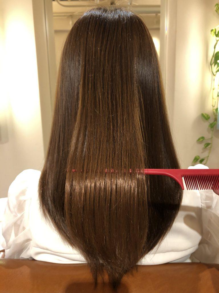 毛髪の酸化でうねります!大阪水素トリートメント