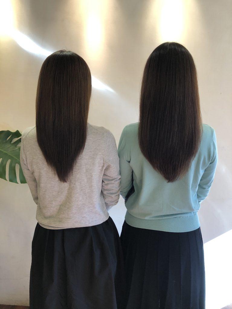 仲良し姉妹で水素トリートメント!