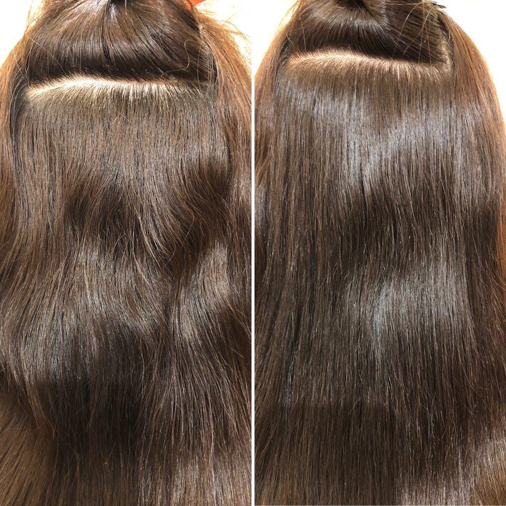 SO CAREでの髪の収まり