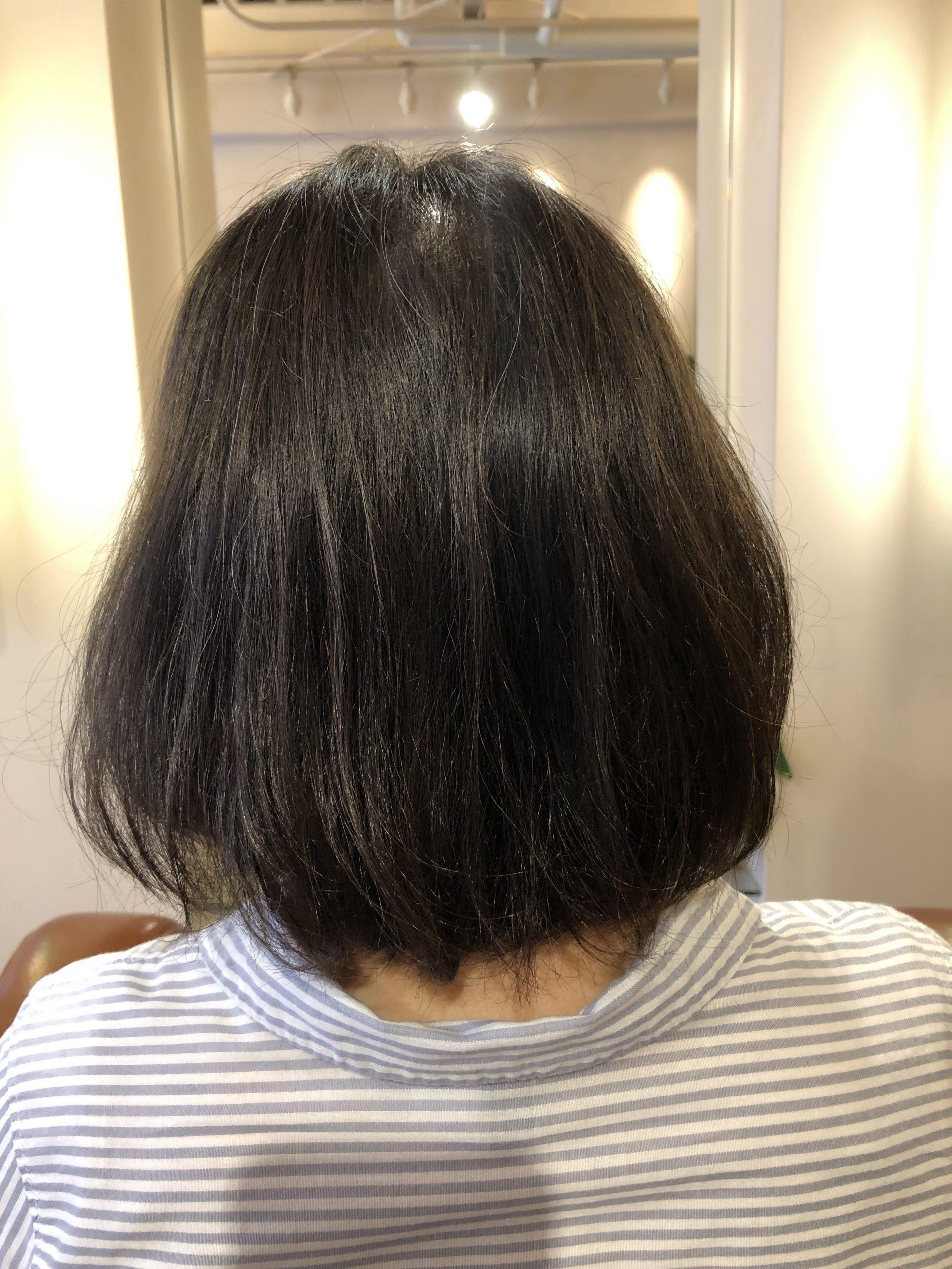 酸化による毛髪のうねりは高発生水素SO-CAREにお任せ!